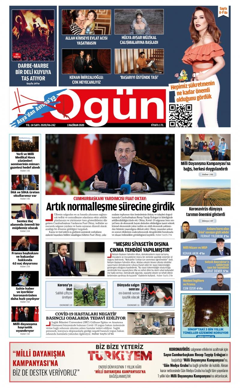 OGÜN E-Gazete - Haziran 2020