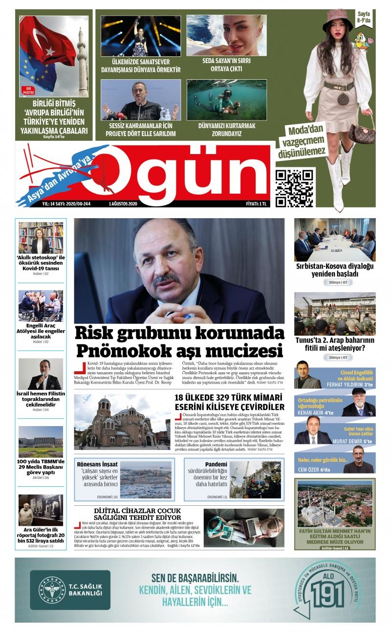 OGÜN E-Gazete - Ağustos 2020