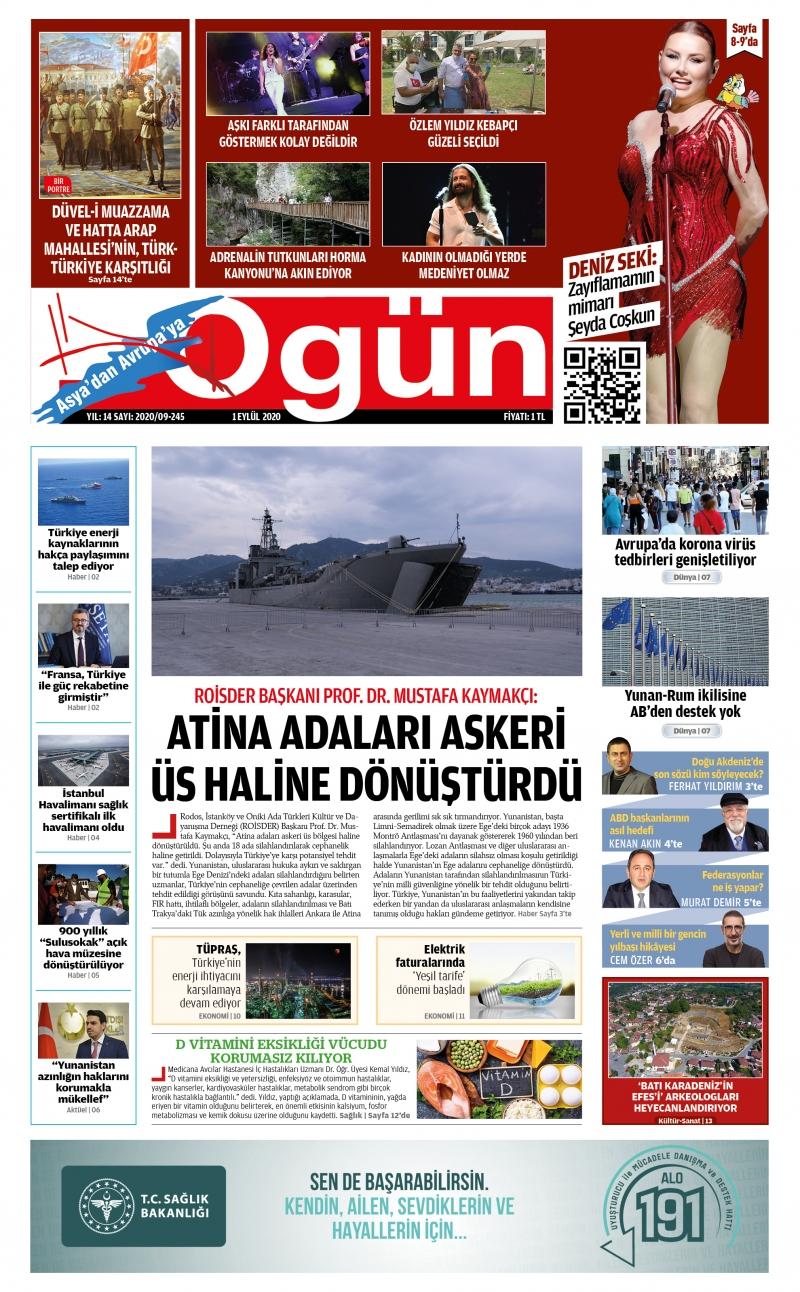 OGÜN E-Gazete - Eylül 2020