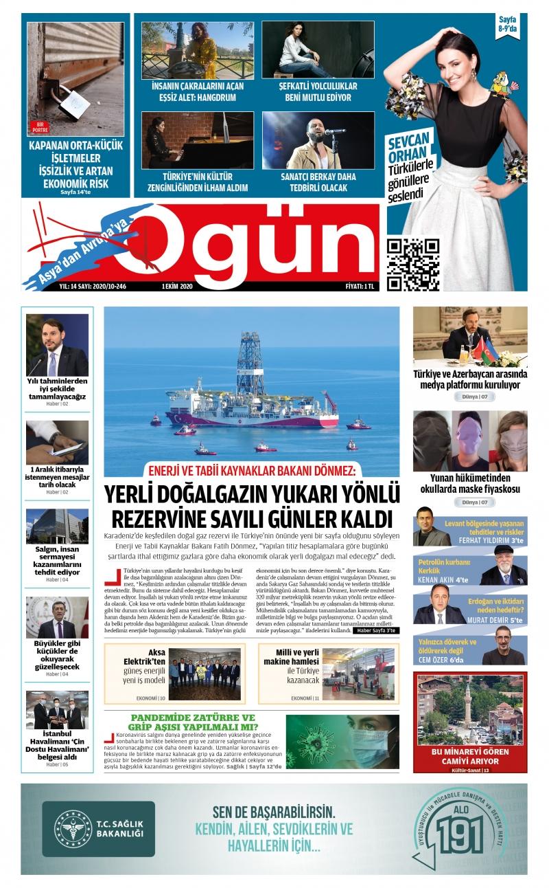 OGÜN E-Gazete - Ekim 2020