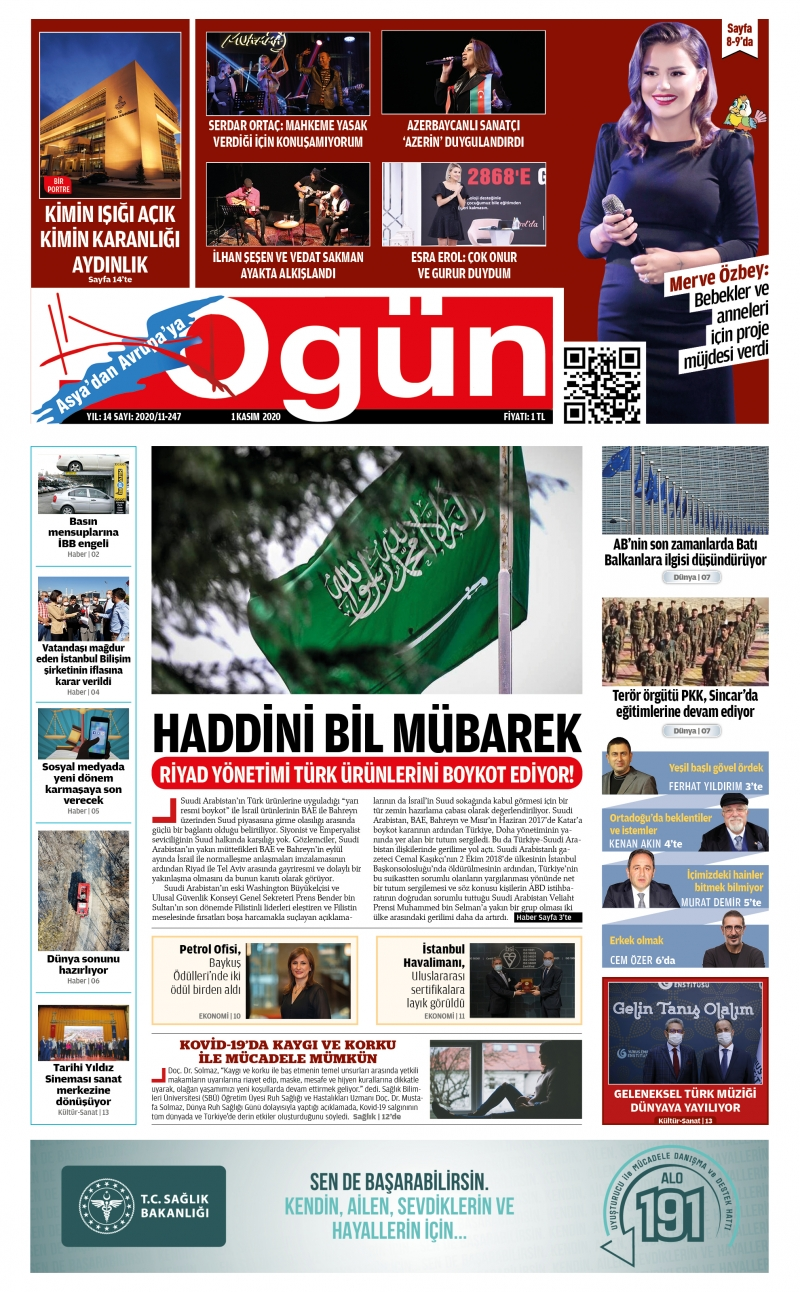 OGÜN E-Gazete - Kasım 2020