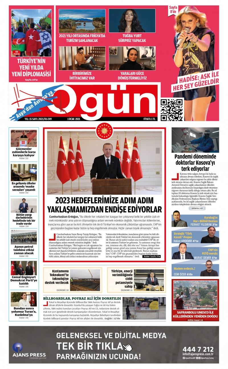 OGÜN E-Gazete - Ocak 2021