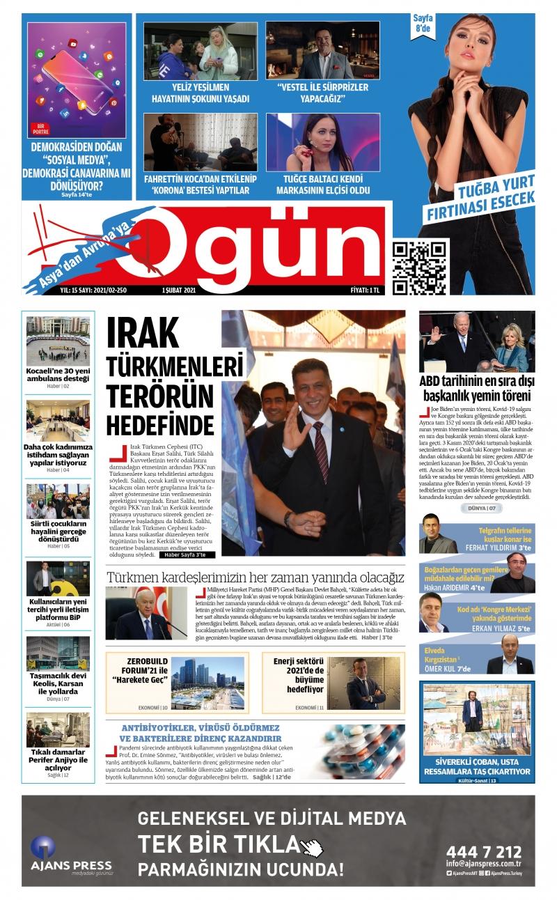 OGÜN E-Gazete - Şubat 2021
