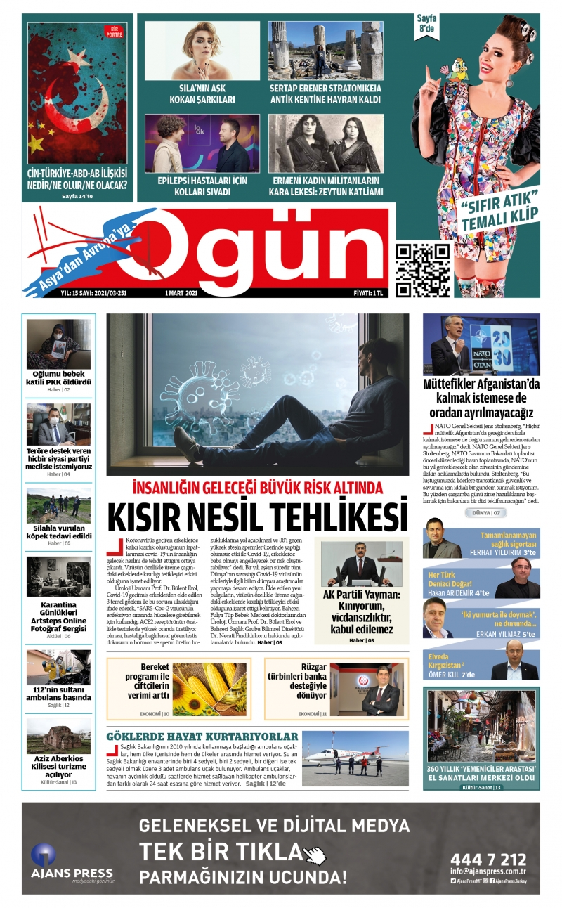 OGÜN E-Gazete - Mart 2021