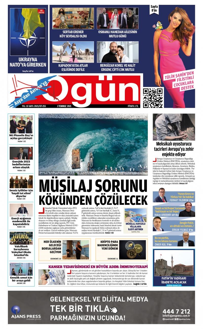 OGÜN E-Gazete - Temmuz 2021
