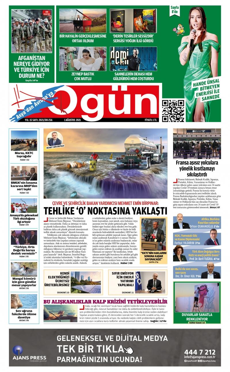 OGÜN E-Gazete - Ağustos 2021