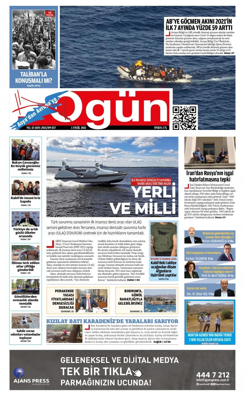 OGÜN E-Gazete - Eylül 2021