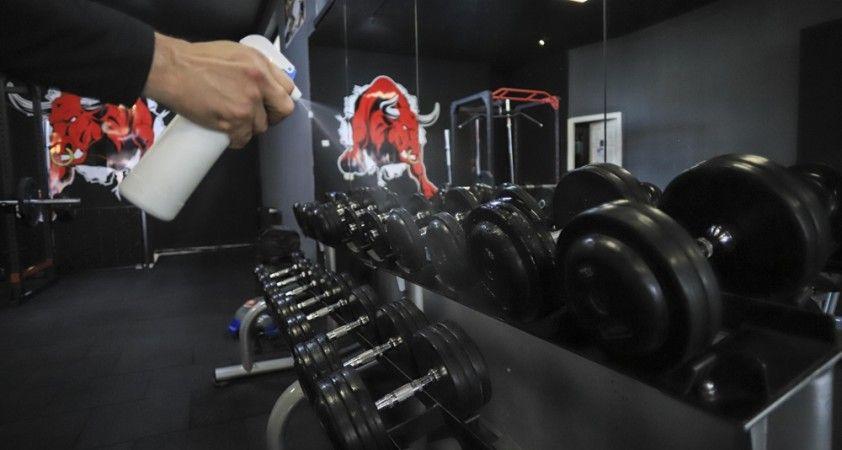 Spor salonları üyelerine kavuşmanın sevincini yaşıyor