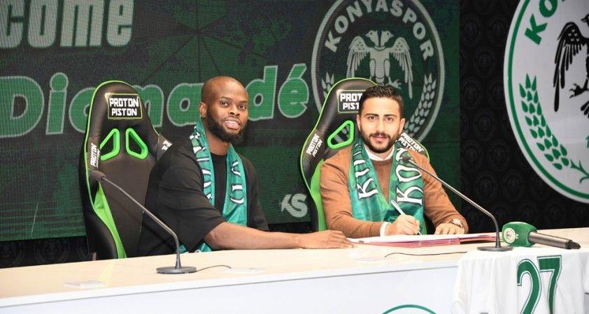 Konyaspor Ismael Diomande'yi kadrosuna kattı