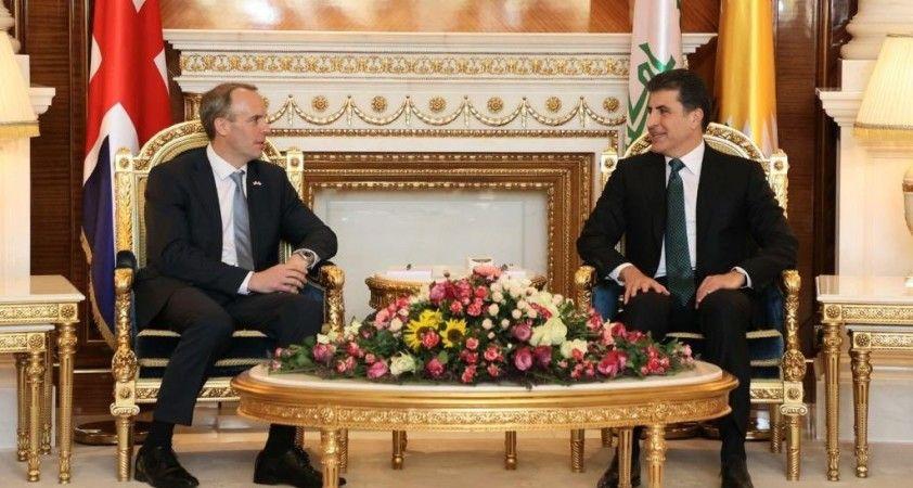 İngiltere Dışişleri Bakanı Raab: 'Biz Kürt halkının dostuyuz ve tarihi ilişkilere sahibiz'