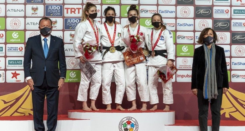 Antalya Grand Slam'de Şentürk'ten bronz madalya
