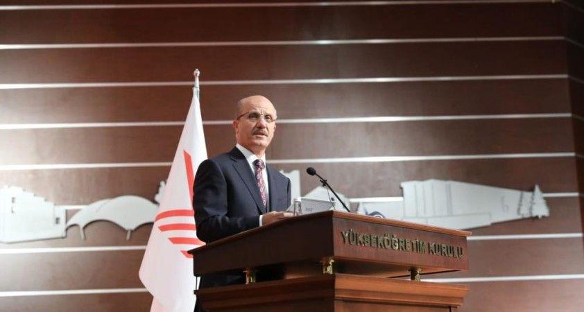 YÖK Başkanı Özvar: 'Uyarılar da dikkate alınarak üniversitelerde örgün eğitim yüz yüze başlayacaktır'