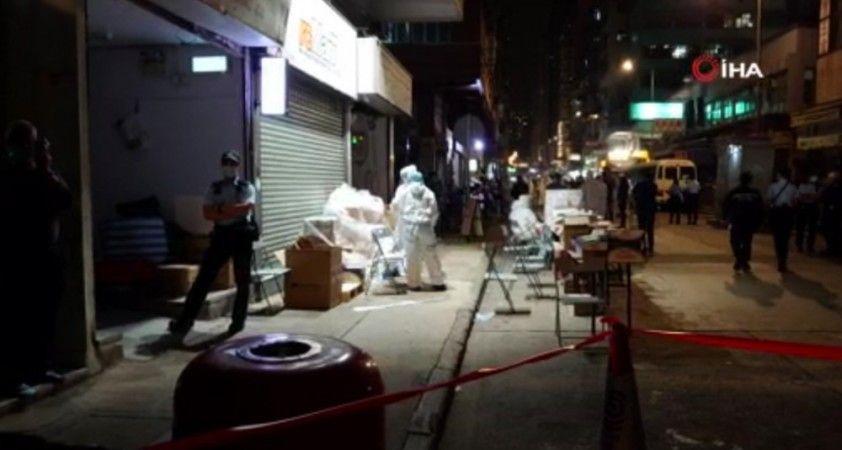 Hong Kong yönetimi, Yau Ma Tei semtinde karantina kararı aldı