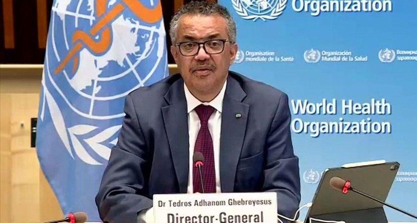 DSÖ Genel Direktör Ghebreyesus: Sinovac aşısının acil kullanımına onay verilmesinden mutluluk duyuyorum