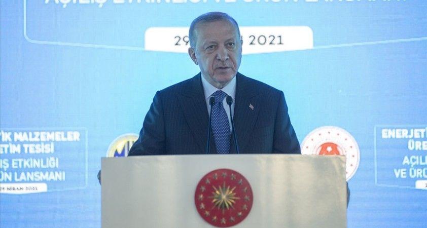 Cumhurbaşkanı Erdoğan: 'KOSGEB vasıtasıyla toplamda 5 milyar lira bütçeli yeni bir destek programı başlatıyoruz.'
