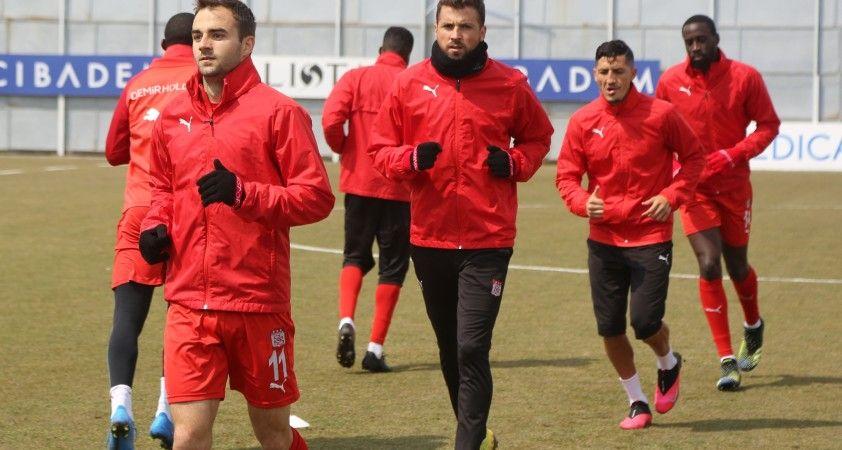 Sivasspor'da Trabzonspor mesaisi sürüyor