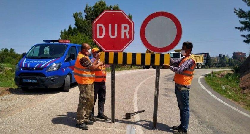Hatay ile Osmaniye arasındaki yollar kapatıldı