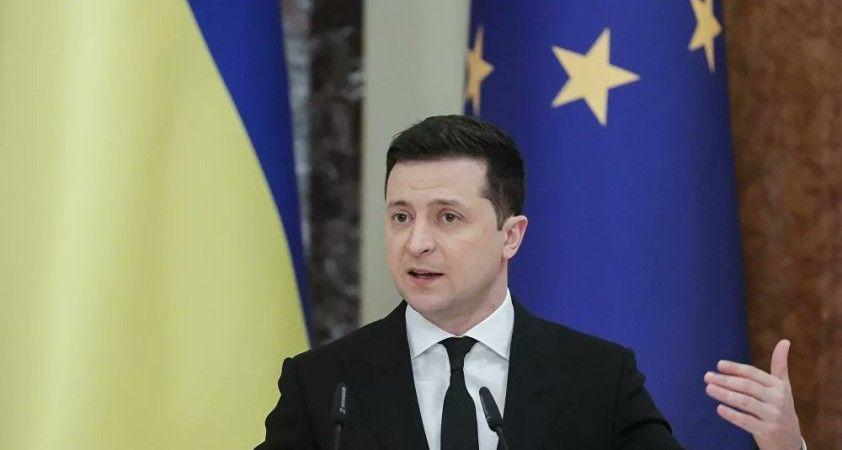 Ukrayna lideri Zelenskiy: NATO üyeliğimiz konusu bir an evvel çözüme kavuşturulmalı