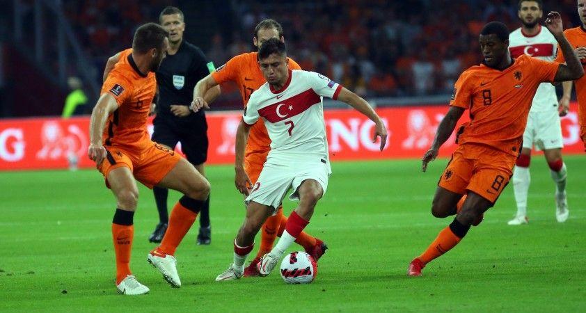 2022 FIFA Dünya Kupası Elemeleri: Hollanda: 3 - Türkiye: 0 (İlk yarı)
