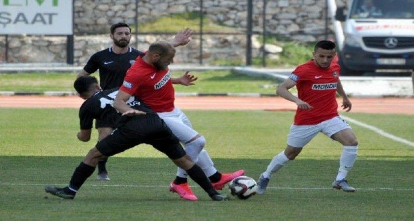 TFF 3. Lig: Somaspor: 0 Nazilli Belediyespor: 0