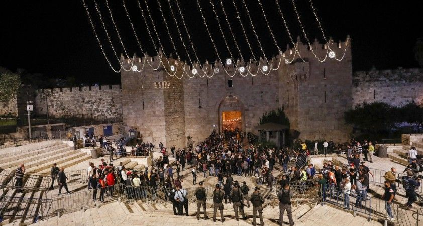 Filistinliler, İsrail güçlerine geri adım attırdı