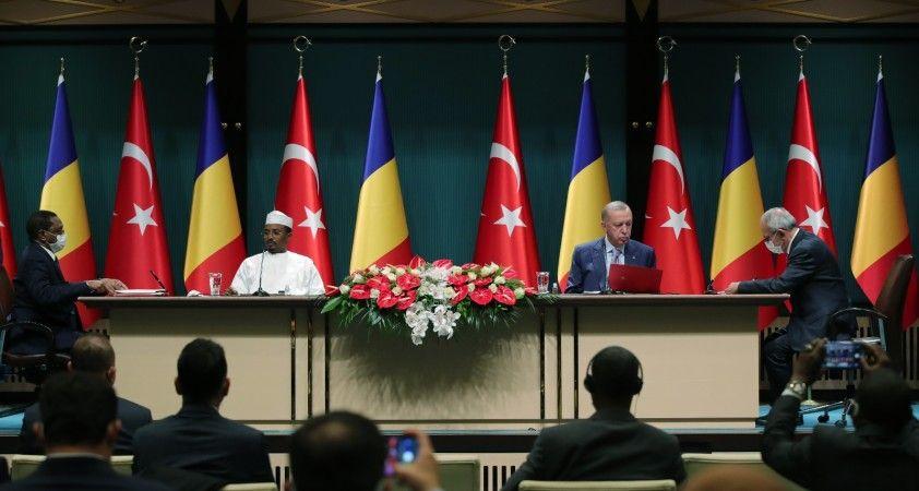 Cumhurbaşkanı Erdoğan: Yeni hedefimiz Çad ile ticaret hacmimizi 200 milyon dolar seviyesine taşımak