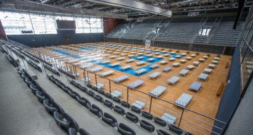 Hırvatistan, basketbol sahasını geçici hastaneye geçirdi