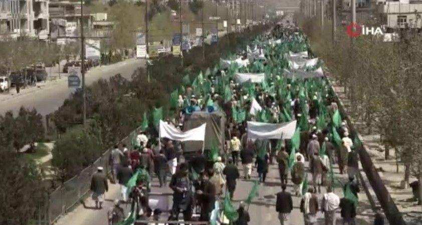 Afganistan'da hükümet karşıtı protesto