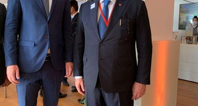 TBMM Başkanı Şentop, Avusturya Başbakanı Kurz ile bir araya geldi