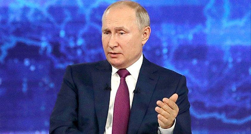 Putin: Avrupa'daki enerji krizi gaz açığından değil elektrik açığından kaynaklanıyor