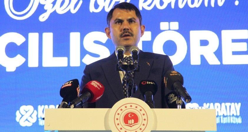 """Bakan Kurum: """"Konyamız, sağlık ve termal turizminin de başkenti olacaktır"""""""