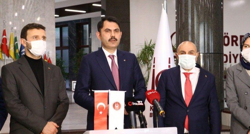 """Bakan Kurum: """"Ankara'ya 4 milyon metrekare büyüklüğünde 19 tane millet bahçesi yapıyoruz"""""""