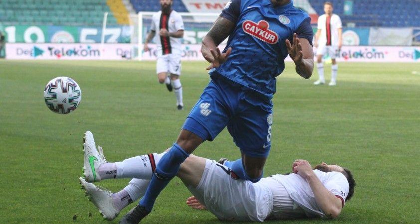 Süper Lig: Çaykur Rizespor: 0 – Fatih Karagümrük: 0 (Maç sonucu)
