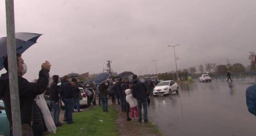Formula 1 hayranları Beleştepe'ye akın etti