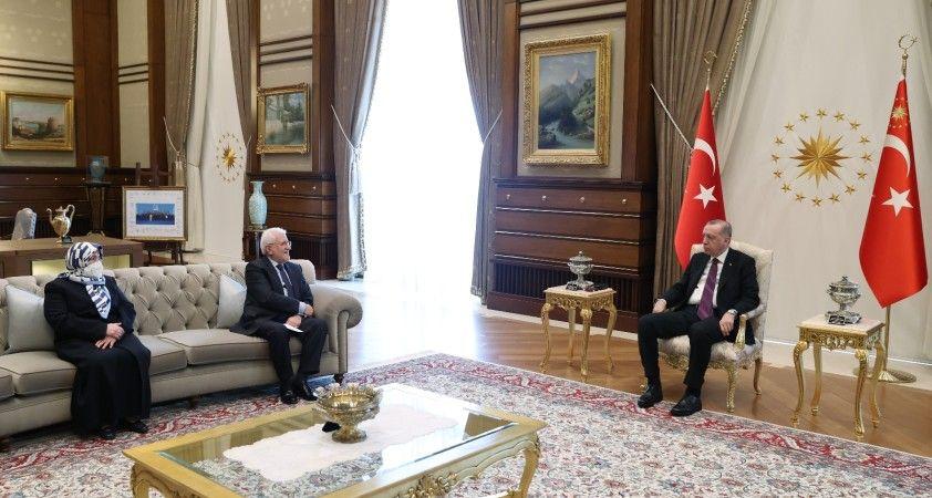 Cumhurbaşkanı Erdoğan, Şehit Savcı Kiraz'ın ailesini kabul etti