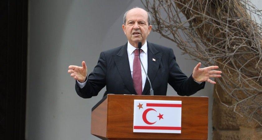 KKTC Cumhurbaşkanı Tatar, terör örgütü EOKA'yı anan Rum lider Anastasiadis'i kınadı