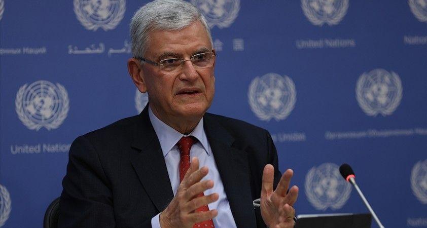 BM 75. Genel Kurul Başkanı Bozkır'dan Suriye'ye sınır ötesi yardımların kesintisiz devam etmesi çağrısı