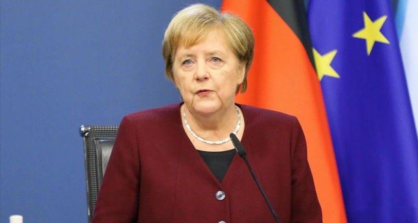 Almanya Başbakanı Merkel: AB-Türkiye ilişkilerinde ilerleme her iki tarafın da çıkarına