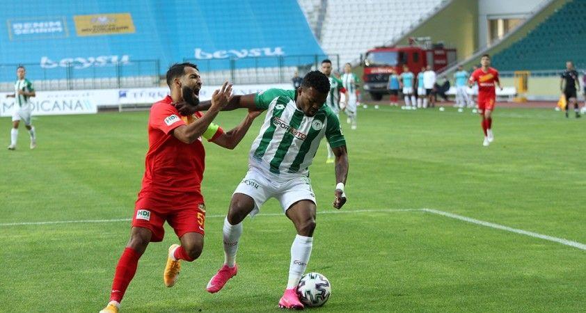 Süper Lig: Konyaspor: 1 - Yeni Malatyaspor: 1 (Maç sonucu)