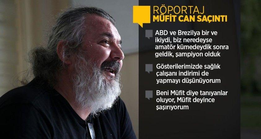 Sanatçı Müfit Can Saçıntı: Dizi sektörü Türkiye'deki hiçbir sektörün başaramadığını başardı