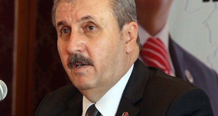 """BBP Genel Başkanı Destici: """"Siyasetin en önemli problemi baraj"""""""