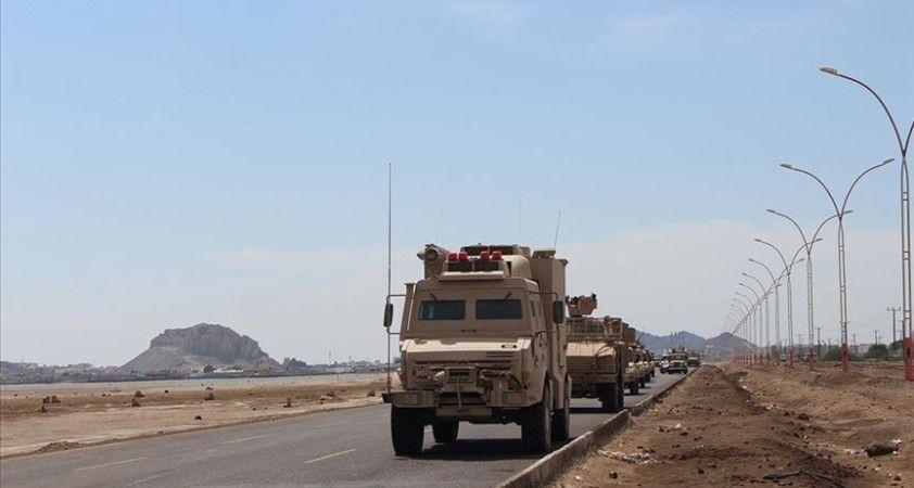 Yemen ordusundan BAE destekli ayrılıkçı unsurlara Ebyen'de ateşkesi ihlal suçlaması