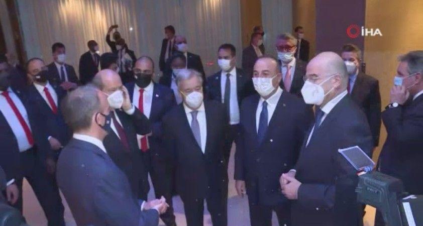 Cenevre'de 5+BM Konferansı öncesi taraflara resepsiyon verildi