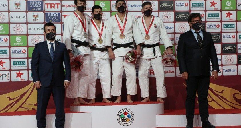 Antalya Grand Slam'da Albayrak'tan altın, Kandemir'den gümüş madalya