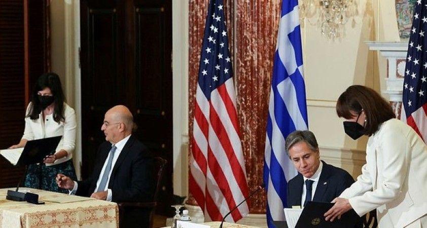 ABD ve Yunanistan arasındaki 'Karşılıklı Savunma İşbirliği Anlaşması' yenilendi
