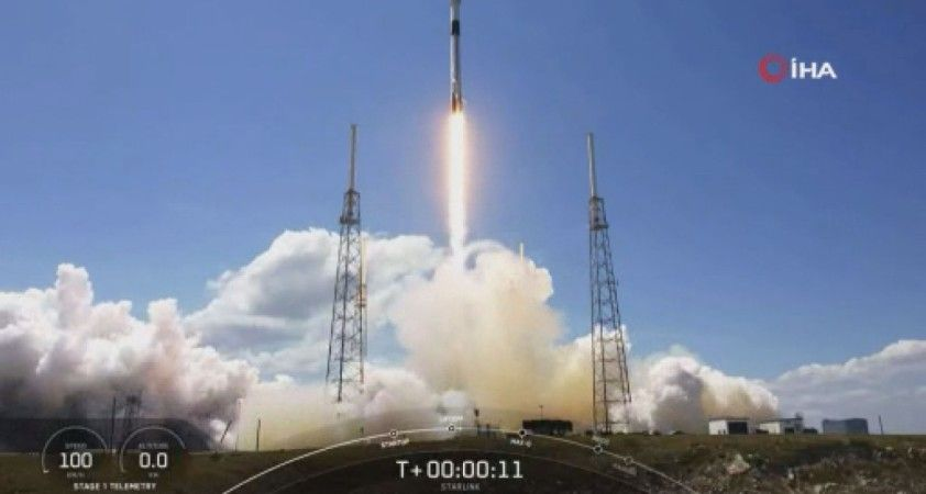 SpaceX, 60 adet Starlink uydusunu daha yörüngeye başarılı şekilde yolladı