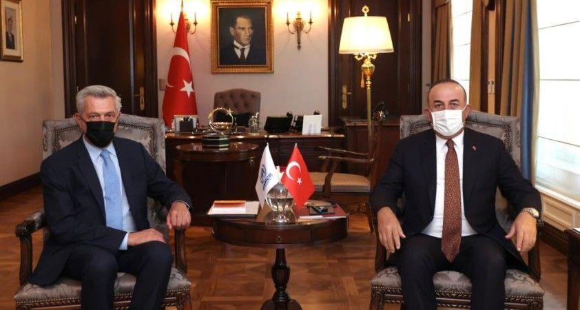 Bakan Çavuşoğlu, BM Mülteciler Yüksek Komiseri Grandi ile görüştü