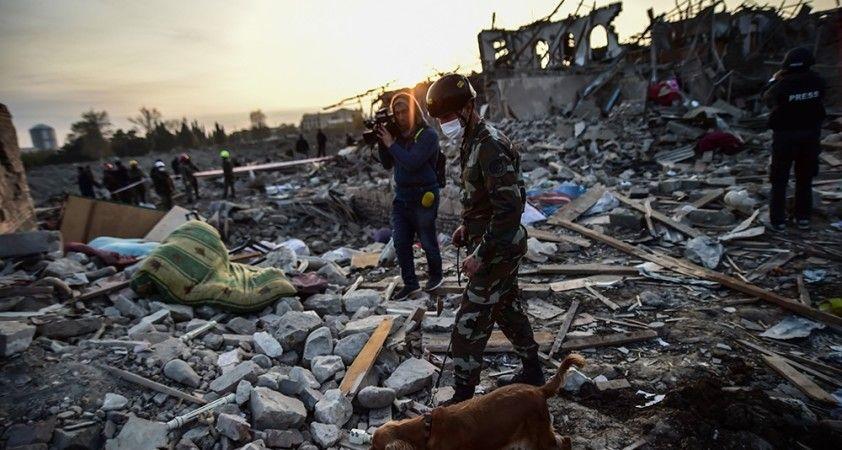 Geçici insani ateşkese rağmen Ermenistan ateşkes ihlalini sürdürüyor