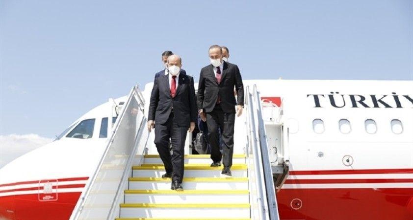 Bakan Çavuşoğlu ve KKTC Cumhurbaşkanı Tatar Cenevre'de