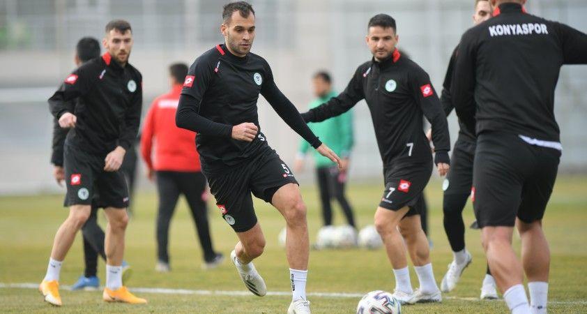Konyaspor, Gaziantep maçı hazırlıklarını tamamladı